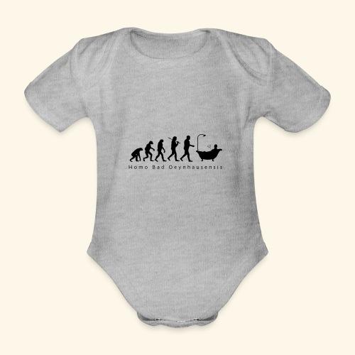 Die Evolution des Bademeisters - Baby Bio-Kurzarm-Body