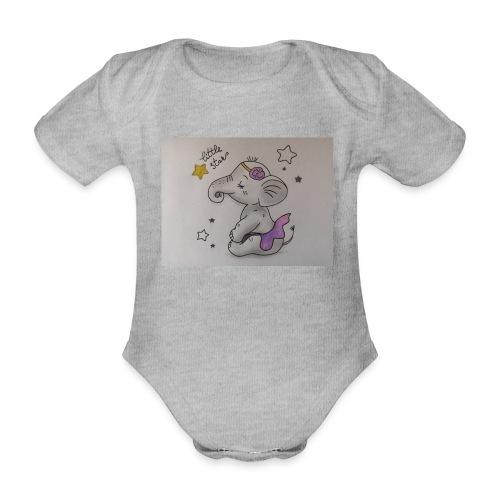 Animaux rigolos pour un Body Bio personnalisé - Body Bébé bio manches courtes
