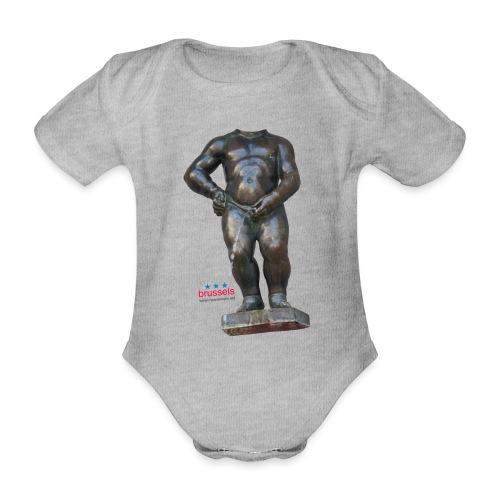 mannekenpis Real Big ♀♂ | 撒尿小童 - Body Bébé bio manches courtes