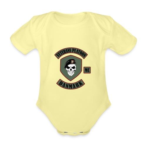 Veterans Platoon - Kortærmet babybody, økologisk bomuld
