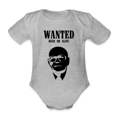 Kekkonen Wanted - Dead or Alive - Vauvan lyhythihainen luomu-body