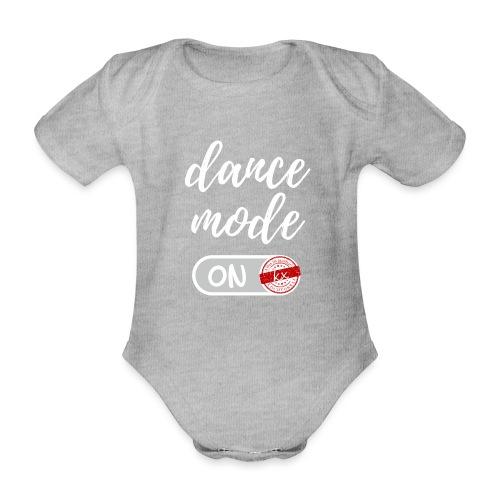 dance mode w - Baby Bio-Kurzarm-Body