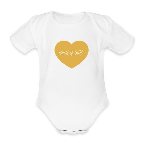 Heart of Gold - Gesetz der Anziehung - Baby Bio-Kurzarm-Body