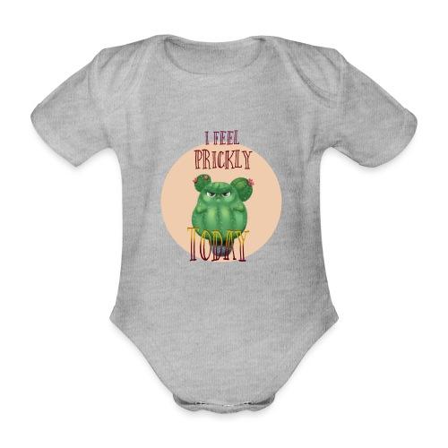 I feel prickly today - Baby Bio-Kurzarm-Body