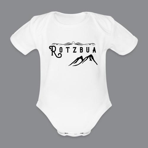 Rotzbua - Baby Bio-Kurzarm-Body