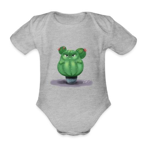 chubby cactus - Baby Bio-Kurzarm-Body