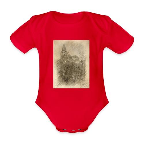 Baalberger Kirche - Baby Bio-Kurzarm-Body
