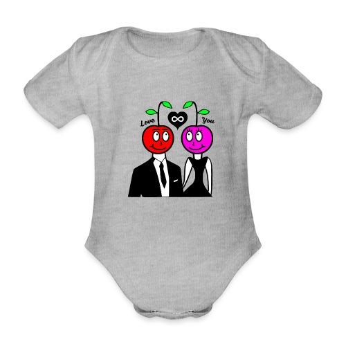 Happy Kirsche - Baby Bio-Kurzarm-Body