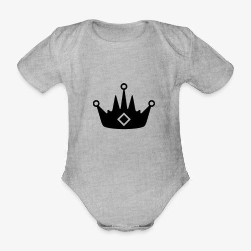 CORONA DELL'ABBIGLIAMENTO - Body ecologico per neonato a manica corta