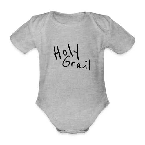 Heiliger Gral - Baby Bio-Kurzarm-Body