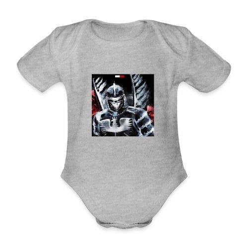 koszulka patriotyczna husaria - Ekologiczne body niemowlęce z krótkim rękawem