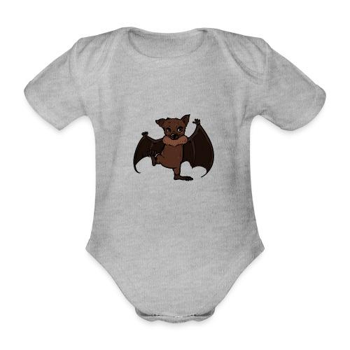 Malu - Der kleine Flughund - Baby Bio-Kurzarm-Body