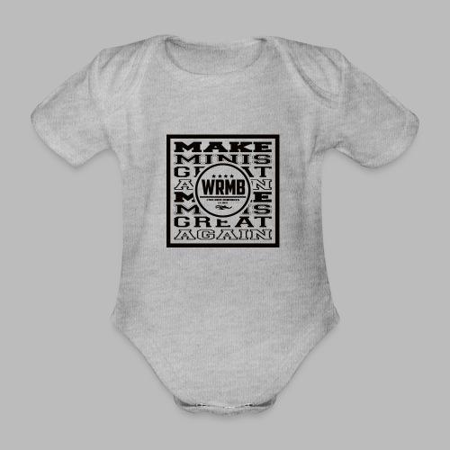 Montée MMGA - Body Bébé bio manches courtes