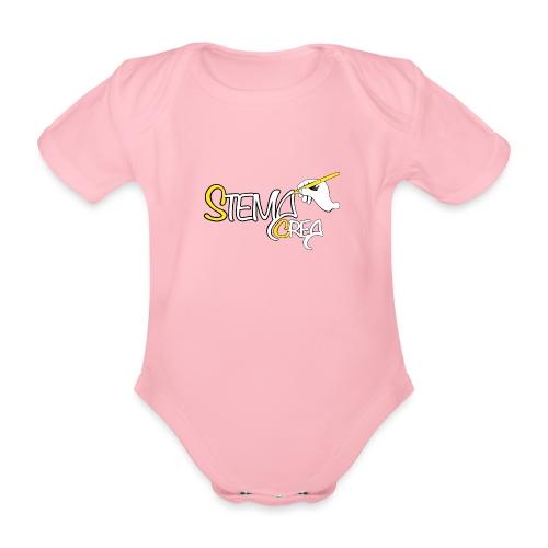 Stema CREA Logo - Body Bébé bio manches courtes