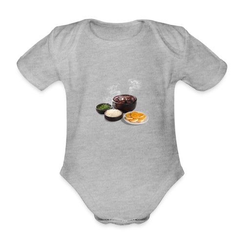 Feijoada - Organic Short-sleeved Baby Bodysuit