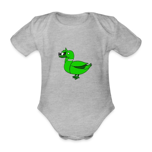 Greenduck Film Just Duck - Kortærmet babybody, økologisk bomuld