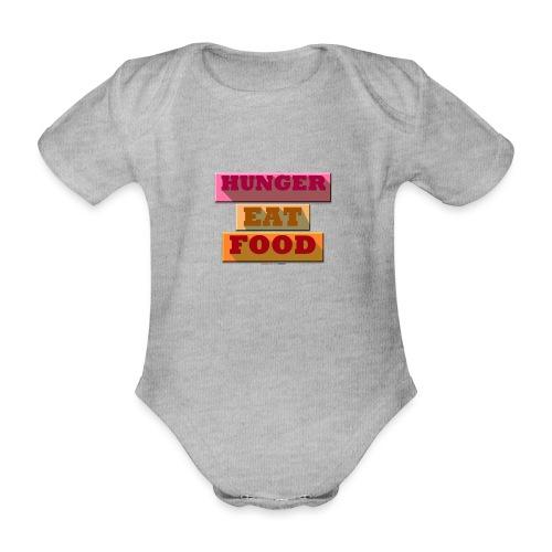 Hunger TShirt - Body Bébé bio manches courtes