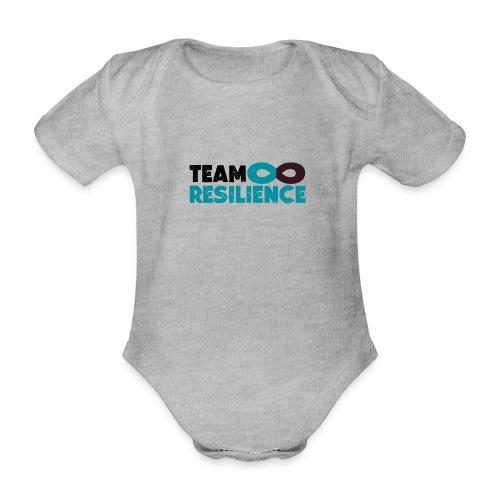 Team Resilience - Ekologisk kortärmad babybody