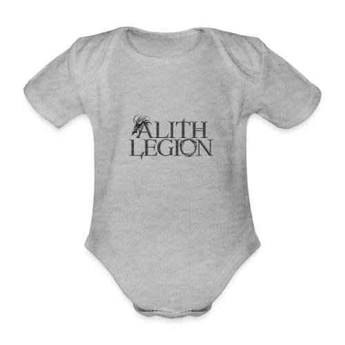 Alith Legion Dragon Logo - Organic Short-sleeved Baby Bodysuit