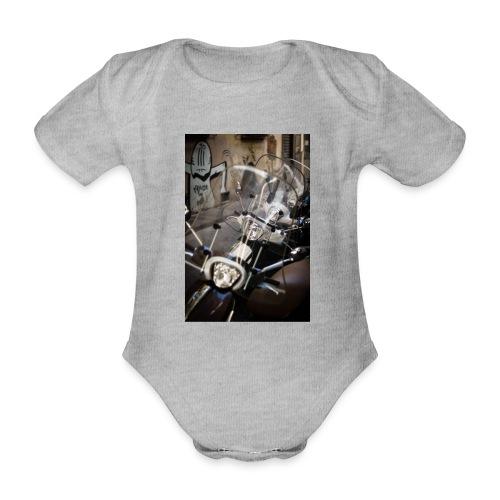 motorbike roller - Baby Bio-Kurzarm-Body