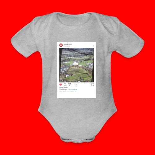 travelsuisse - Burg Balzers - Baby Bio-Kurzarm-Body