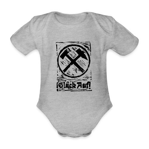 GlueckAuf - Baby Bio-Kurzarm-Body