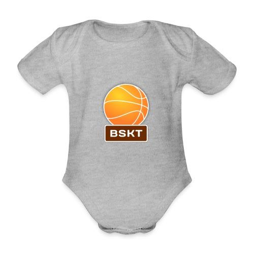 Basket - Body orgánico de manga corta para bebé