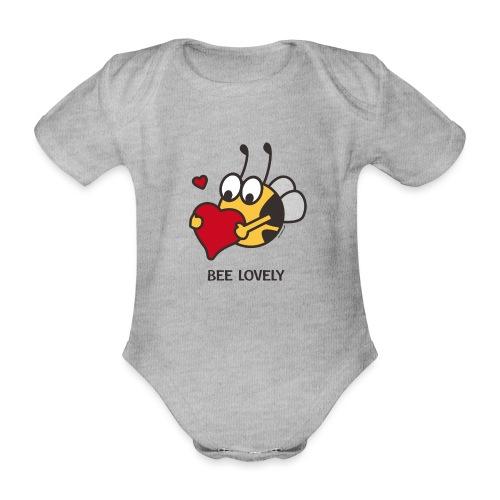 BEE LOVELY - Baby Bio-Kurzarm-Body