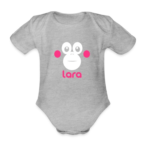Santai Shirt - Baby - Baby bio-rompertje met korte mouwen