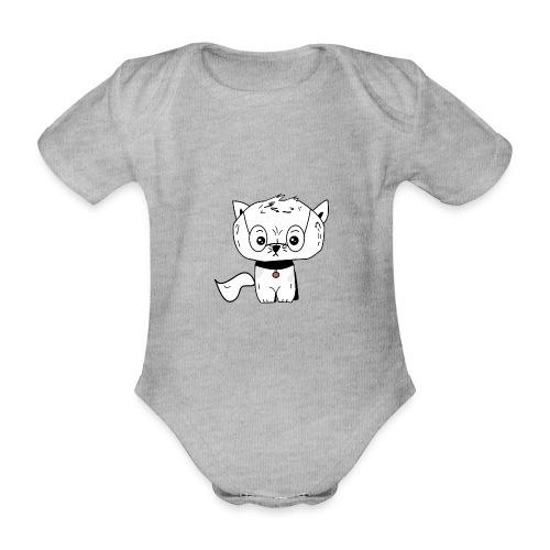 Grumpy cat Crittercontest - Baby Bio-Kurzarm-Body
