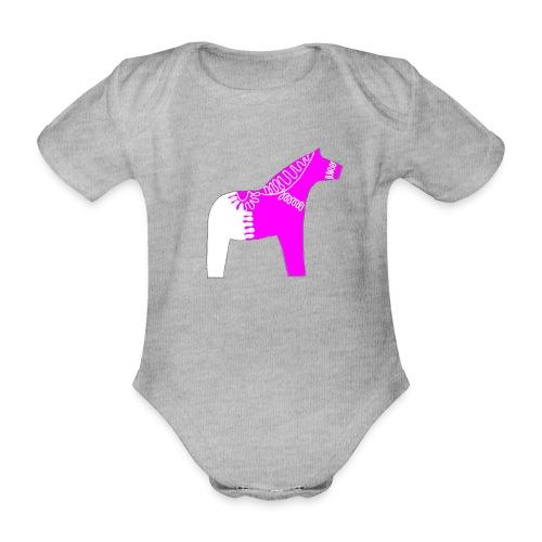Dala by Pinni Art® pink - Baby Bio-Kurzarm-Body