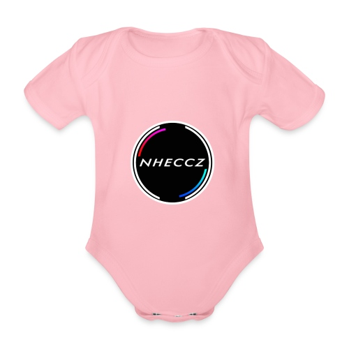 NHECCZ Logo Collection - Organic Short-sleeved Baby Bodysuit