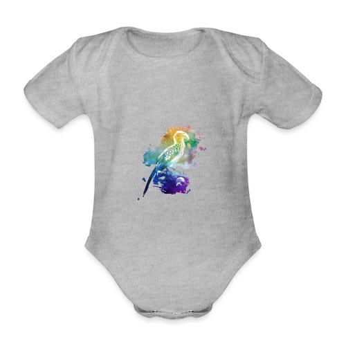 Afrika   Gelbschnabeltoko - Baby Bio-Kurzarm-Body