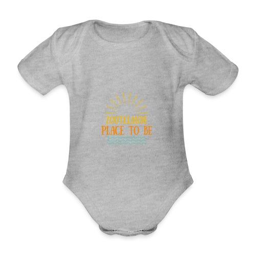 Zoutelande - Place To Be - Baby Bio-Kurzarm-Body
