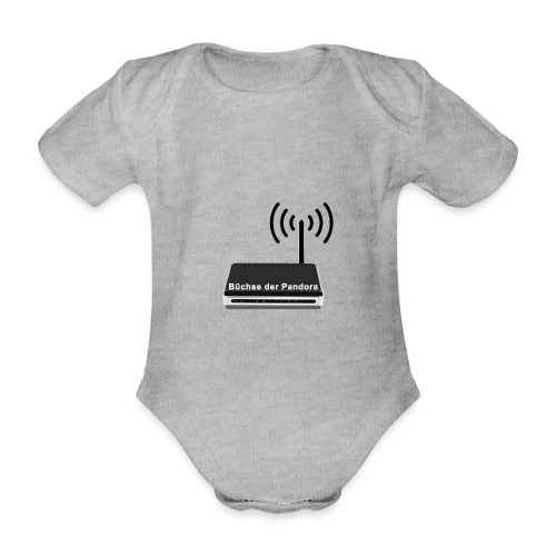 Büchse der Pandora - Baby Bio-Kurzarm-Body