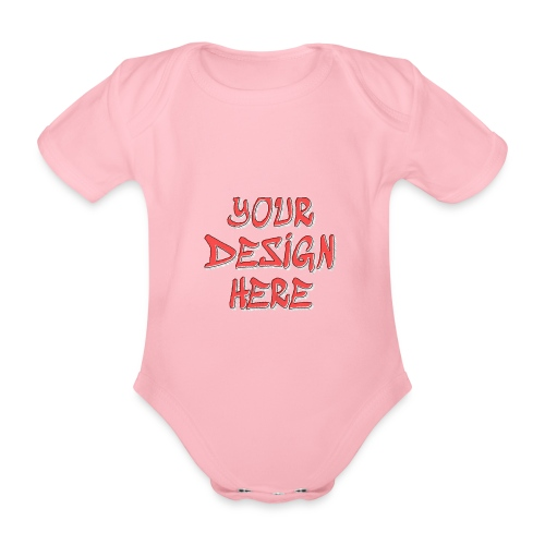 TextFX - Organic Short-sleeved Baby Bodysuit