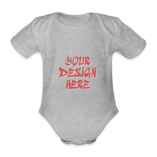 TextFX - Organic Short-sleeved Baby Bodysuit