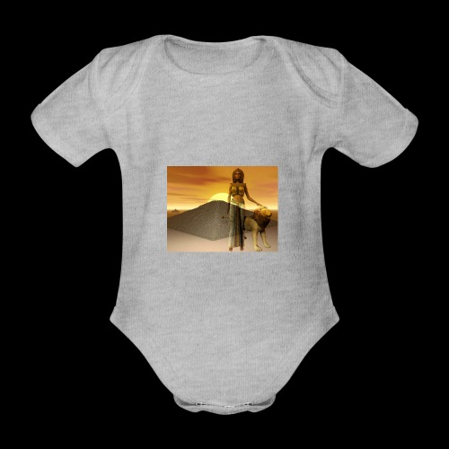 FANTASY 1 - Baby Bio-Kurzarm-Body