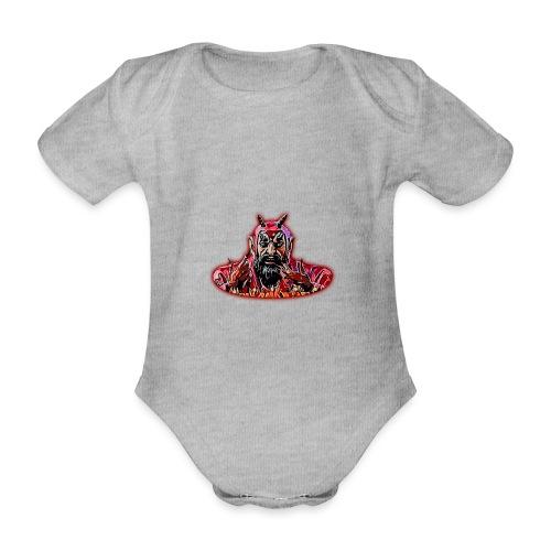 DEMONIO - Body orgánico de maga corta para bebé