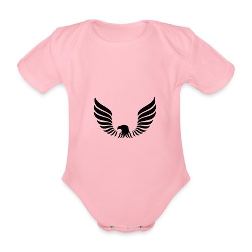 Aguila - Body orgánico de maga corta para bebé