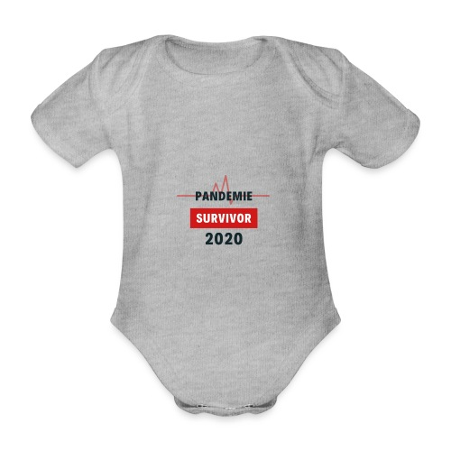 Pandemie Survivor - Baby Bio-Kurzarm-Body