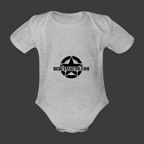 Stella RENEGADE Berciniauto - Body ecologico per neonato a manica corta