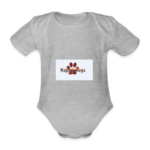 Happy dogs - Baby Bio-Kurzarm-Body
