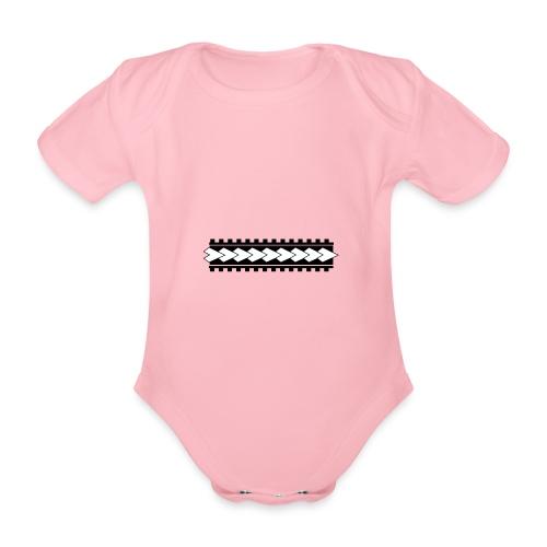 Linea corporal - Body orgánico de maga corta para bebé