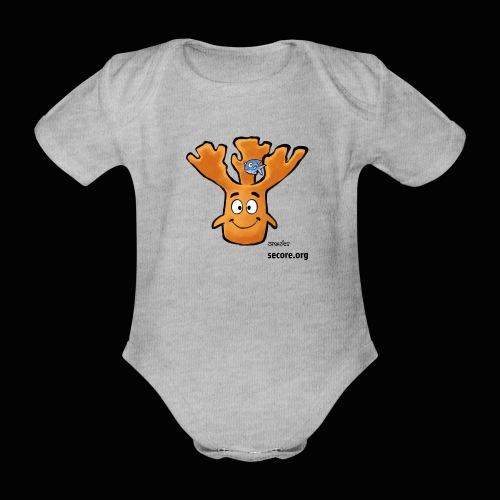 Al Moose - Organic Short-sleeved Baby Bodysuit