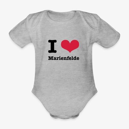 I love Marienfelde - Baby Bio-Kurzarm-Body