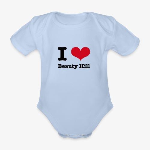 I love Beauty Hill - Baby Bio-Kurzarm-Body