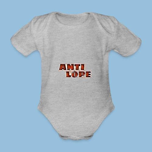Antilope 0007 - Baby bio-rompertje met korte mouwen
