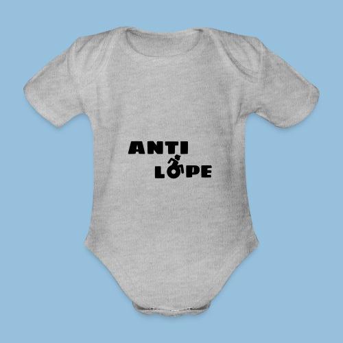 Antilope 004 - Baby bio-rompertje met korte mouwen