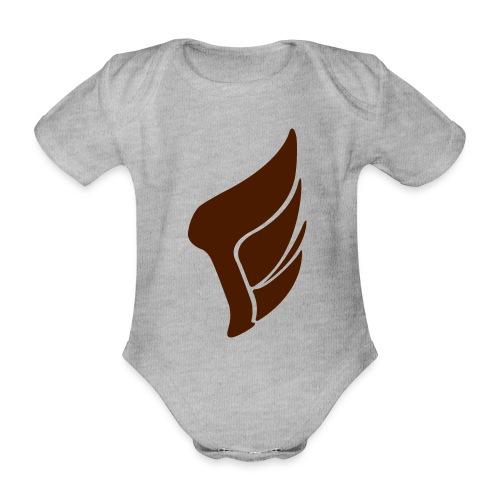 WING_logo_2016 - Organic Short-sleeved Baby Bodysuit